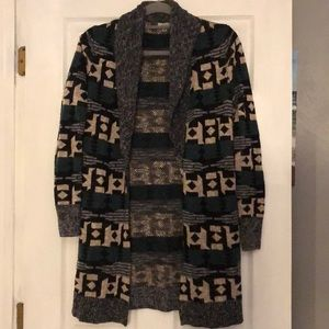 Urban Outfitters ecote brand Aztec cardigan